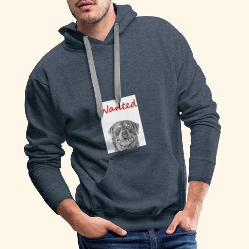 WANTED Rottweiler - Men's Premium Hoodie