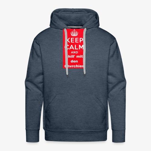 Keep calm chvrchies - Männer Premium Hoodie