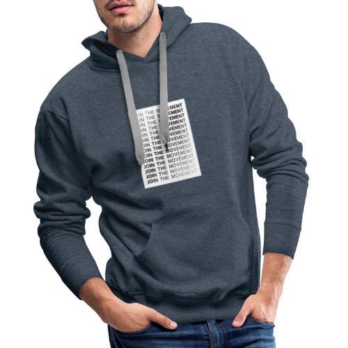 JoinTheMovement SketchFile - Mannen Premium hoodie