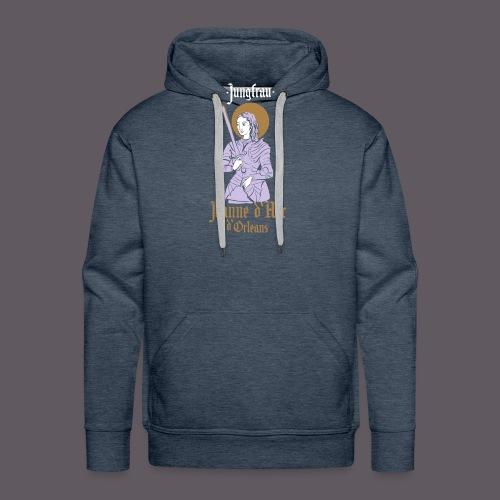 Jungfrau Jeanne d Arc de Orleans - Männer Premium Hoodie
