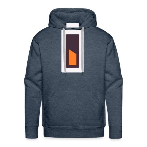 Batterie - En charge... - Sweat-shirt à capuche Premium pour hommes