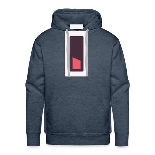 Batterie - Plus d'énergie... - Sweat-shirt à capuche Premium pour hommes