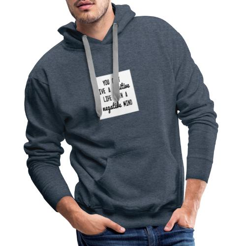 0102001 en048w - Mannen Premium hoodie