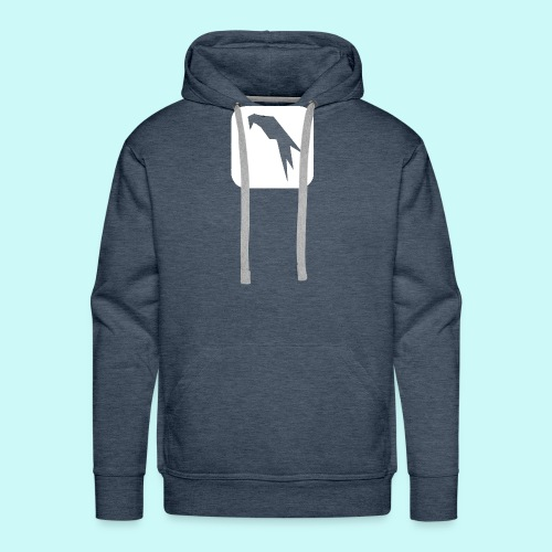 Parrot Security Logo white - Men's Premium Hoodie