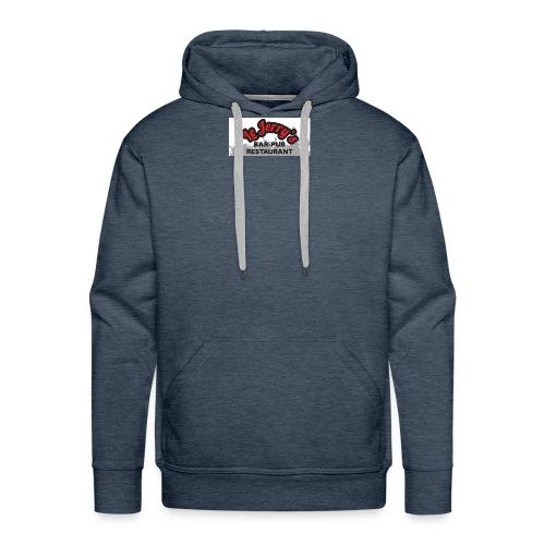 logo jerry s dos 1 - Sweat-shirt à capuche Premium pour hommes