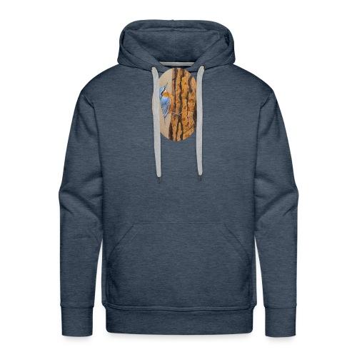 mesange - Sweat-shirt à capuche Premium pour hommes
