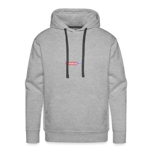beatdropbox logo final and hires - Mannen Premium hoodie