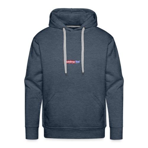 beatdropbox logo final and hires - Mannen Premium hoodie