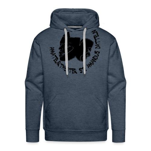 klassisches ATAD Logo mit Schrift - Männer Premium Hoodie