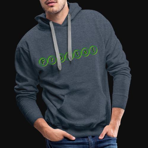ƒяσηтαℓ (green) - Männer Premium Hoodie