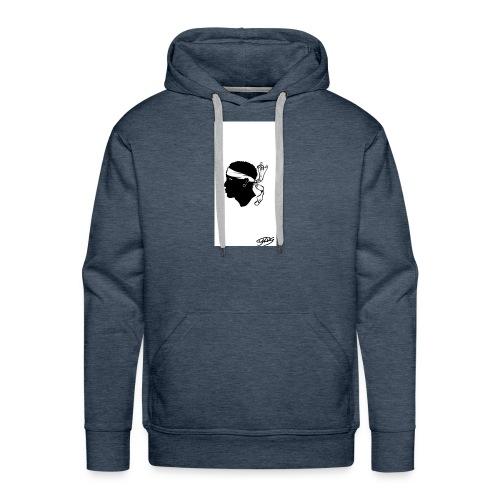 Tête de maure by Cyrus - Sweat-shirt à capuche Premium pour hommes