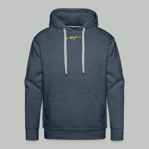 Let Groww not war! - Sweat-shirt à capuche Premium pour hommes