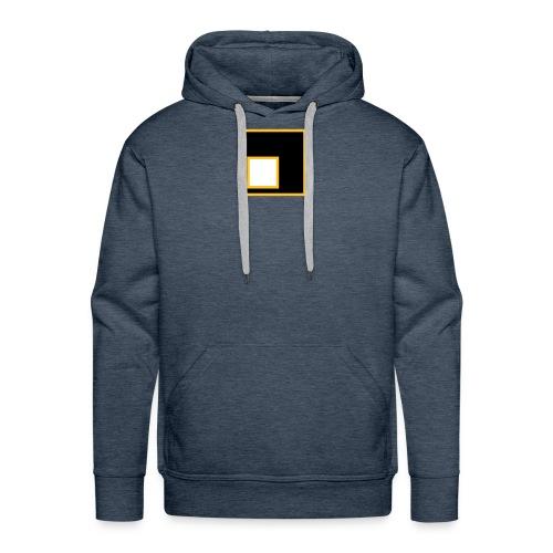schiefLicht Logo weiß - Männer Premium Hoodie