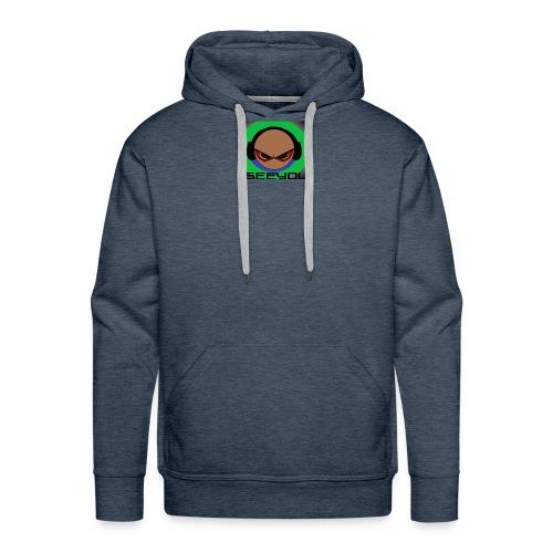 ISEEYOU - Männer Premium Hoodie