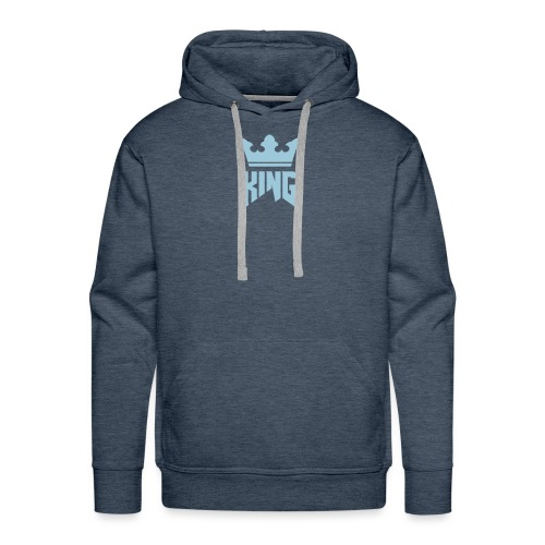 Single logo white - Men's Premium Hoodie