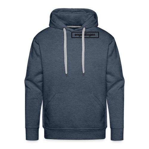 enge dingen - Mannen Premium hoodie