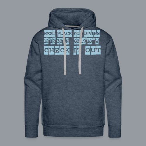 check it 1000 Step - Männer Premium Hoodie