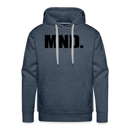 MND. - Mannen Premium hoodie