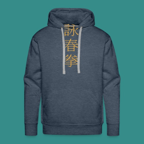 Wing Chun gold hell - Männer Premium Hoodie