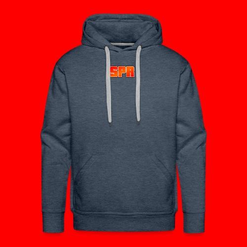 Logo SupeRichieGames - Mannen Premium hoodie