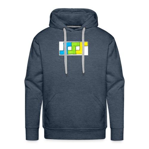 Tripless basic logo - Sweat-shirt à capuche Premium pour hommes