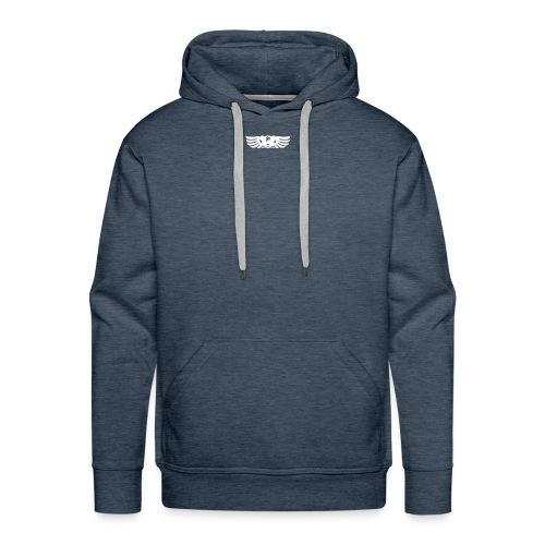 LOGO wit goed png - Mannen Premium hoodie
