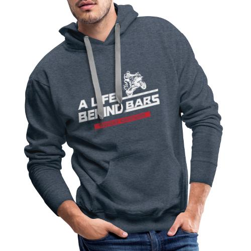 ABT White Graphic - Men's Premium Hoodie