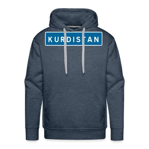 Kurdistanskylt - Premiumluvtröja herr