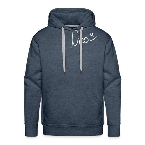 Signed Nico (White) - Männer Premium Hoodie