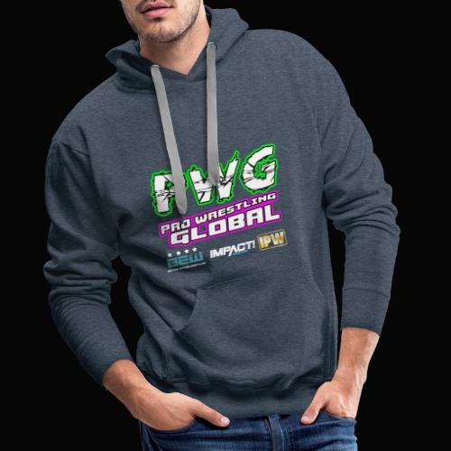 PWG Pro Wrestling Global - Men's Premium Hoodie