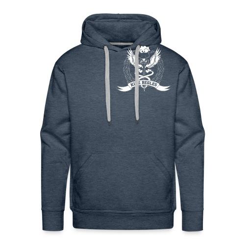 LOGO FINAL ACCEPTE sans f - Sweat-shirt à capuche Premium pour hommes