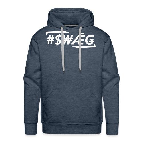 swagweiss2 - Männer Premium Hoodie