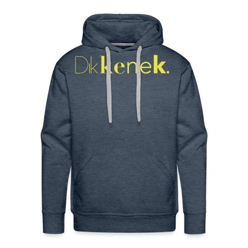 dikkenek - Sweat-shirt à capuche Premium pour hommes