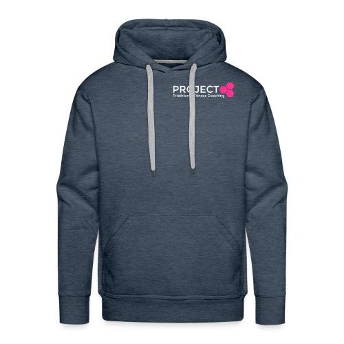 PROJECT pink txt - Men's Premium Hoodie