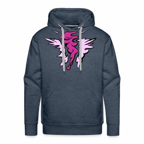 Femix Pink-Blau - Männer Premium Hoodie