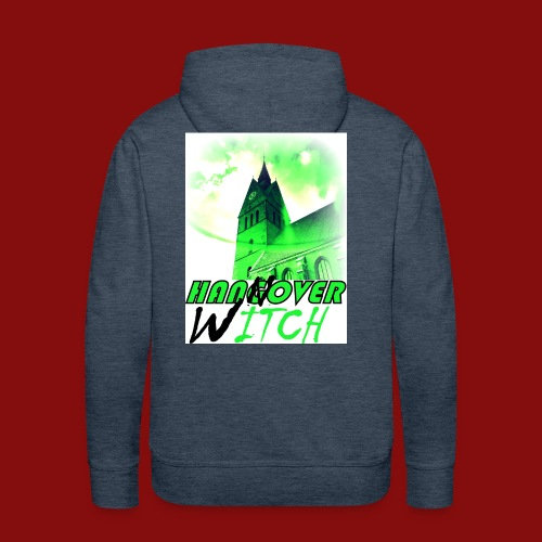 Hangover Witch Green - Hannover Witch Grün - Männer Premium Hoodie