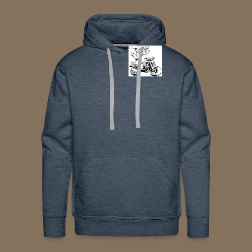 Logo MEV - Sweat-shirt à capuche Premium pour hommes