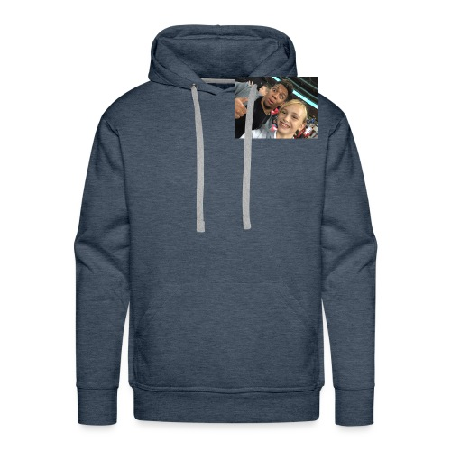 a pic with youtuber - Men's Premium Hoodie