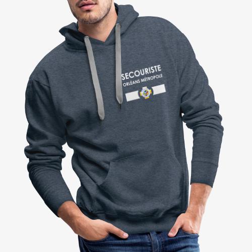 Gamme Secouriste FFSS - Sweat-shirt à capuche Premium pour hommes