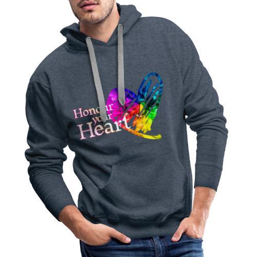 Honour Your Heart 2021 - Men's Premium Hoodie