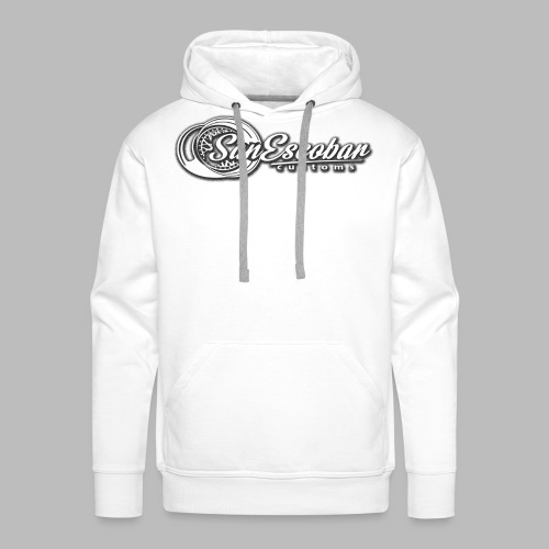 San Escobar Customs - Bluza męska Premium z kapturem