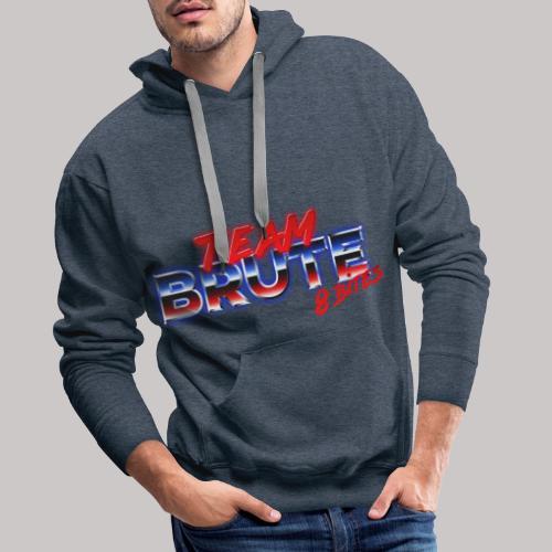 Team BRUTE Red - Men's Premium Hoodie