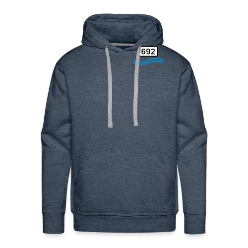 rheinkilometer692b - Männer Premium Hoodie