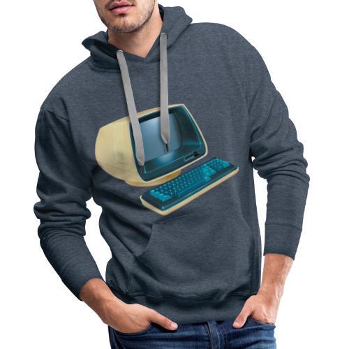 Retro Computer - Men's Premium Hoodie
