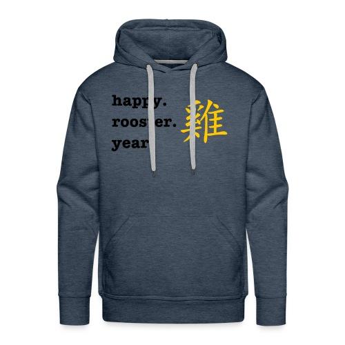 happy rooster year - Men's Premium Hoodie