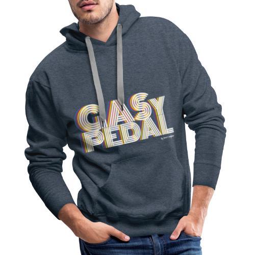 GAS Y PEDAL - Sudadera con capucha premium para hombre