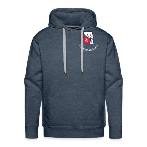 los-logo-grauweiss - Männer Premium Hoodie