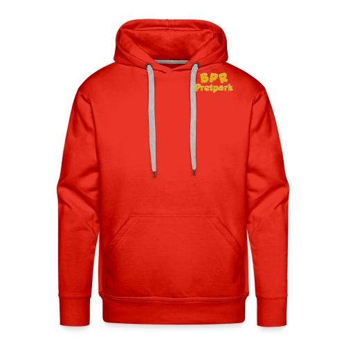 BPR Pretpark borstlogo - Mannen Premium hoodie