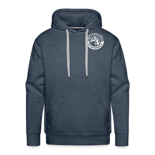 LRV_logo_white - Männer Premium Hoodie