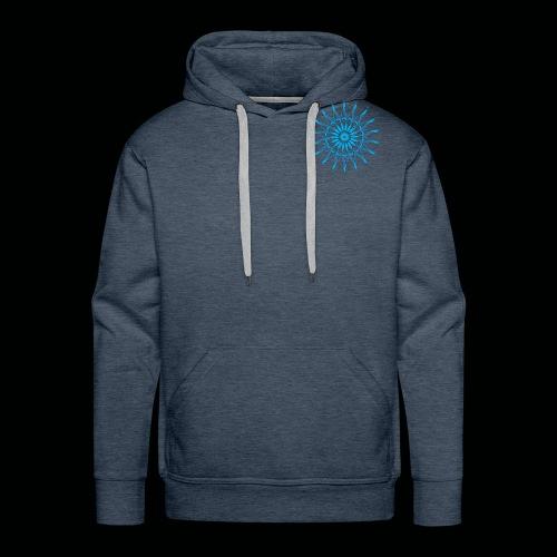 Mandala Blau - Männer Premium Hoodie